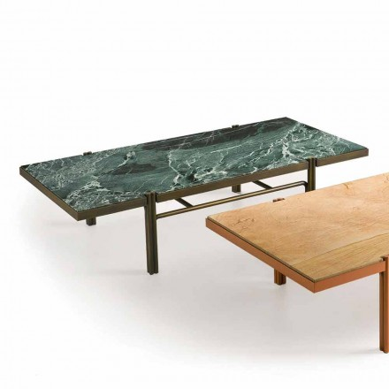 Fratelli Boffi Mathilde living room coffee table with marble top