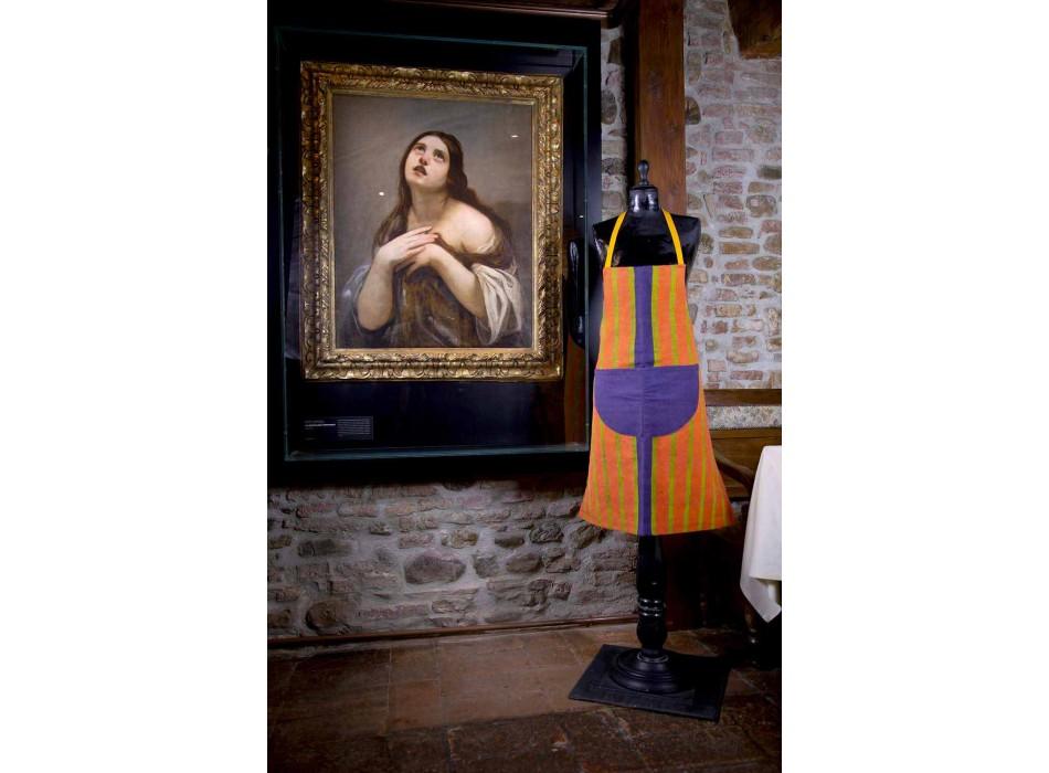 Canvas Art Apron Unique Piece of Italian Crafts - Brands