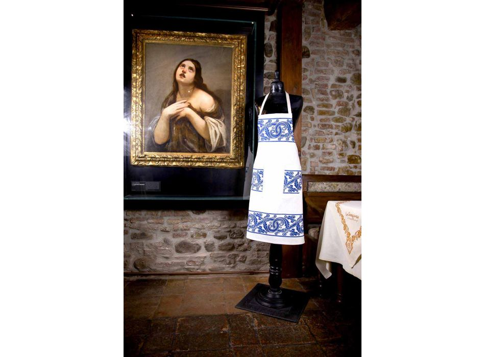 Italian Hand Crafted Linen Apron One Piece - Brands