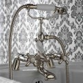 Classic Bath Edge Group with Brass Hand Shower Made in Italy - Ercolina