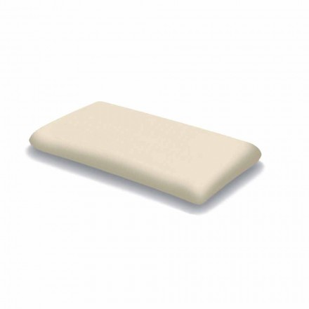 Ergonomic Memory Foam Pillow 11 cm high Made in Italy, 2 pieces - Jasmine
