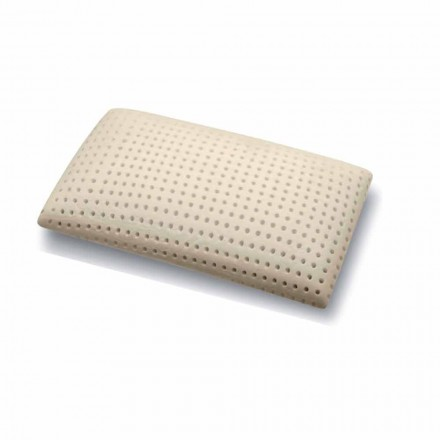 Pillow in Perforated Memory Foam 15 cm high Made in Italy, 2 pieces - Toulouse