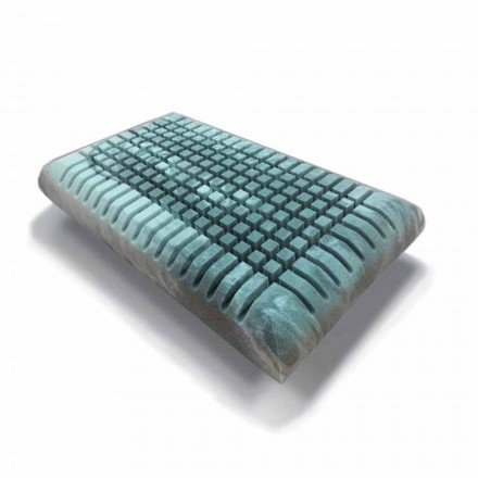 Ergonomic Memory Xform pillow 12 cm high Made in Italy - Clementino