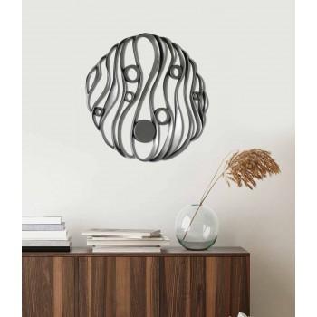 Wall Installation of Modern Elegant Design in Perforated Ceramic - Desta