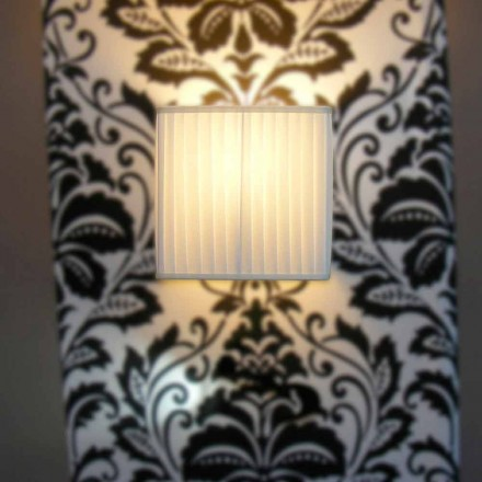 Modern design ivory silk wall lamp Bamboo