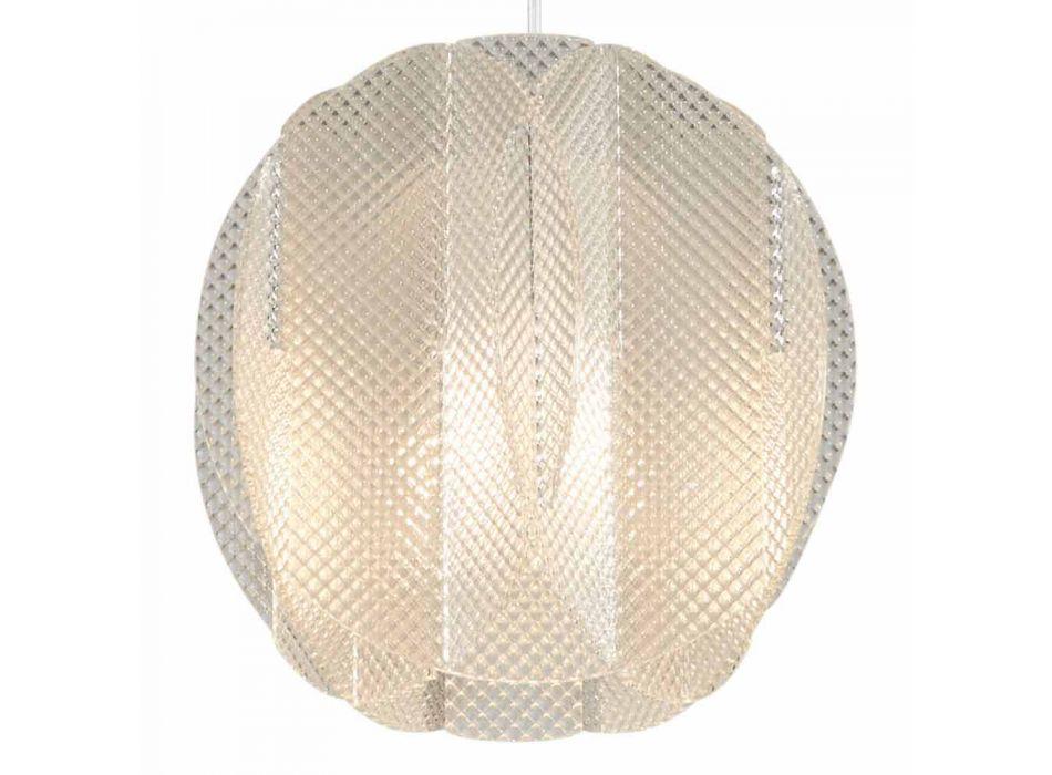 Pendant lamp 2 lights methacrylate, diameter 22cm, Desire