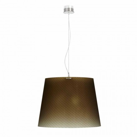 3-light pendant lamp Rania, made of polycarbonate, 66 cm diameter