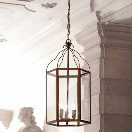 Contemporary three-lights pendant lamp Turandot