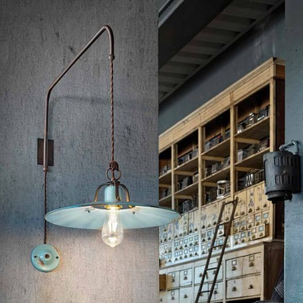 Country suspension lamp with adjustable arm Sally