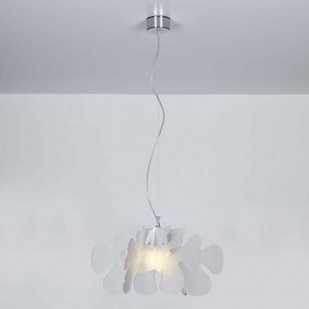 Modern design methacrylate pendant lamp Debora, 55x55 cm