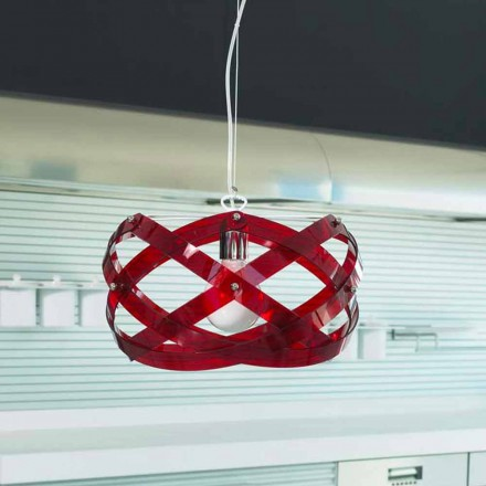 Modern design pendant lamp Vanna made of methacrylate, diam. 53 cm