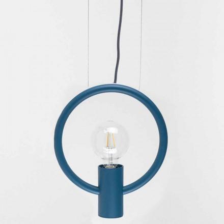Design Suspension Lamp in Steel Made in Italy - Delizia