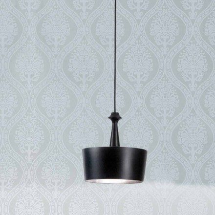 Modern ceramic pendant light I Lustri 6 by Aldo Bernardi