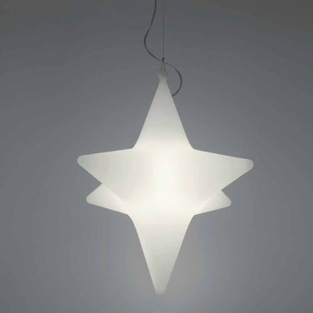 Indoor Star-Shaped LED Pendant Lamp Design by Slide - Sirio