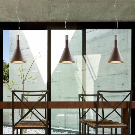 Modern pendant light Funnel by Aldo Bernardi