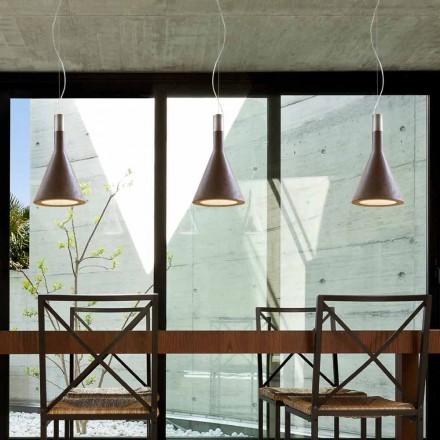 Modern pendant light Funnel by Aldo Bernardi