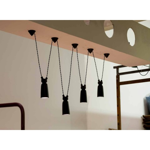 Ceramic pendant lamp for Battersea - Toscot composition