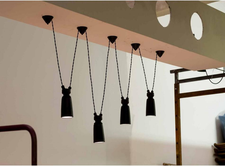 Ceramic pendant lamp for Battersea - Toscot composition