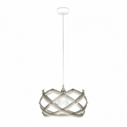 Pendant lamp Vanna, made of methacrylate with decorations, 40 cm diam.