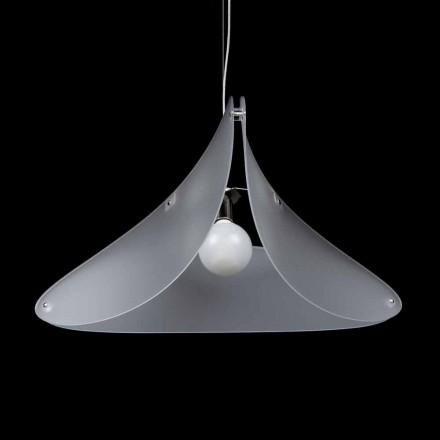 Modern design pendant lamp Nina, made of methacrylate, 90 cm diam