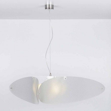 Modern pendant lamp Taire, made of methacrylate, 116 cm diam.