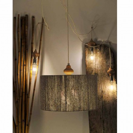 Modern design 4-light pendant lamp Bois