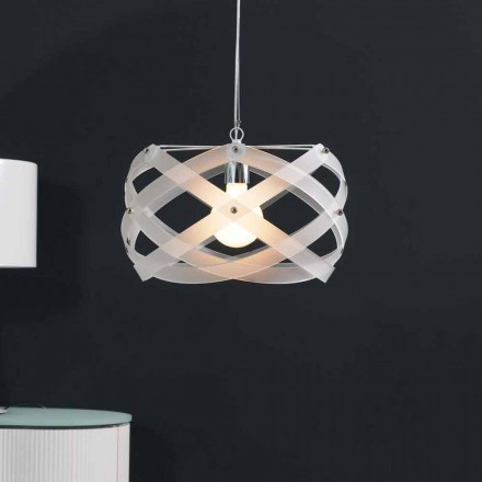 Modern design pendant lamp Vanna, made of methacrylate, 40 cm diam.