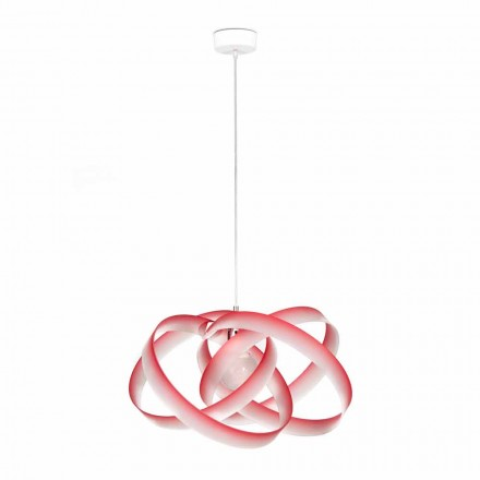 Modern design pendant lamp Ferdi, diam 56 cm, made of methacrylate