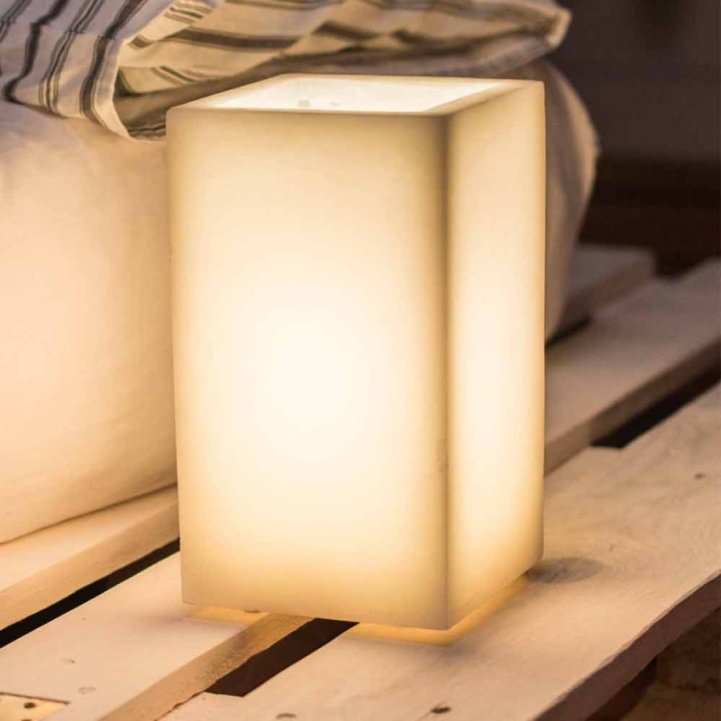Abat-jour Lamp in Scented Wax of Different Colors Made in Italy - Dalila