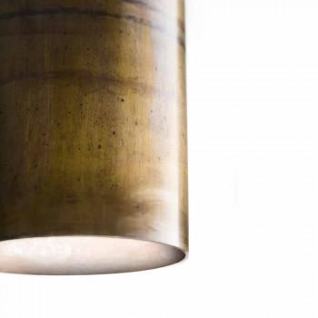 cylindrical pendant lamp Ø8 Girasoli Il Fanale