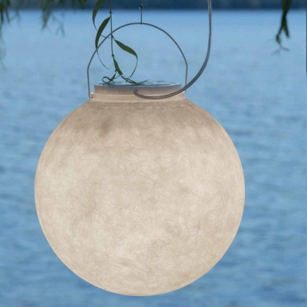 Outdoor suspension lamp In-es.artdesign Luna Out in nebulite