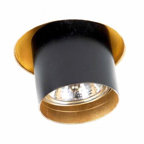 Artisan Recessed Lamp in Adjustable Aluminum Made in Italy - Adra