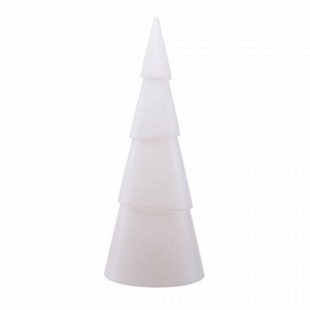 Modern, White, Red or Green Indoor or Outdoor Floor Lamp - Alberostar