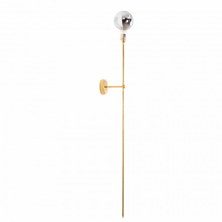 Handcrafted Wall Lamp with Brass Structure Made in Italy - Carma