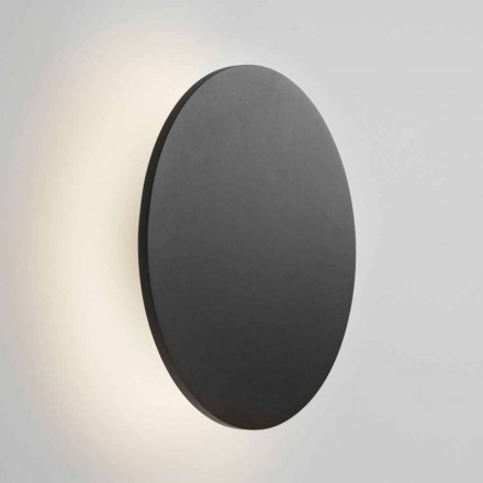 Design Wall Lamp in White, Black, Gold or Rose Gold Metal - Smania