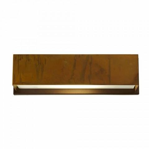 Design wall lamp in brass and steel Ø35xh.10xsp.9 cm Harya