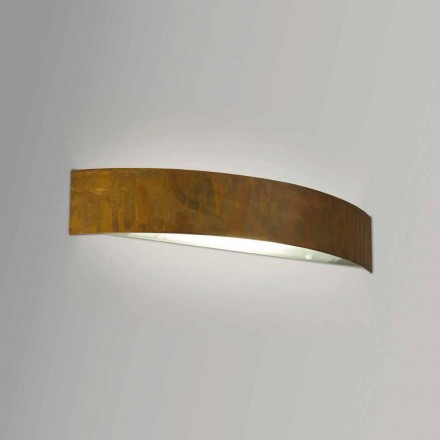 Contemporary design brass wall lamp 47xH8x sp. 8 cm Blandine