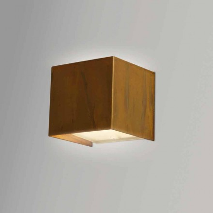 Modern design brass wall lamp 9x H 9x, 9 cm, Venus