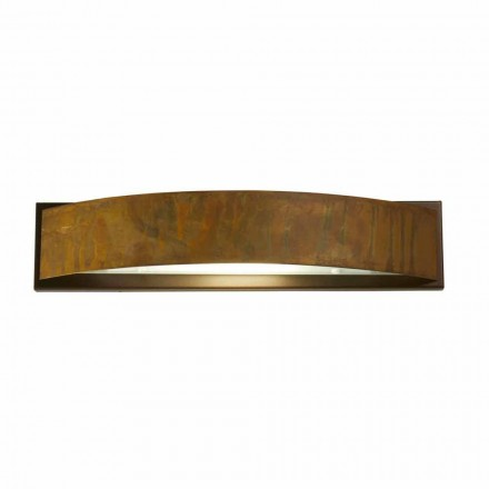 Wall lamp in brass and steel 49x H 10 xsp.9 cm Blandine