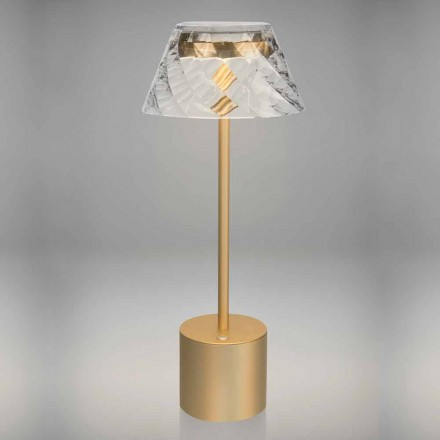 Design Touch Led Table Lamp in Metal and Acrylic - Tagalong