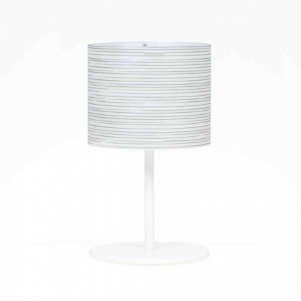 Modern design table lamp Debby, with modern decoration, 30 cm diam