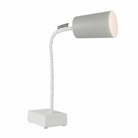 Table lamp In-es.artdesign Paint T2 flexible cement stem