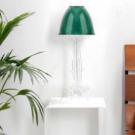 Liberty design reading/table lamp with plexiglass base, Caneva