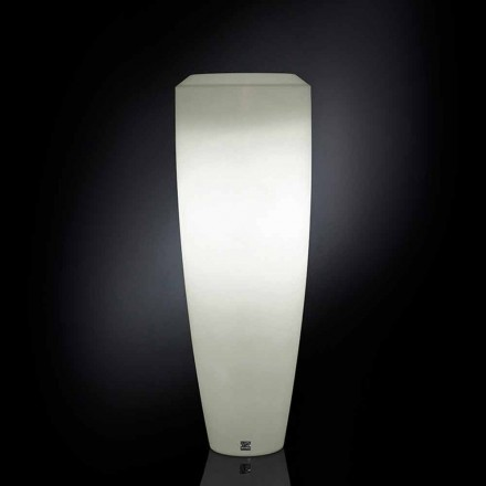Ldpe floor lamp Obice Small with Led lights, outdoor use