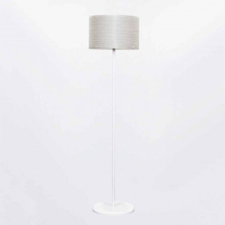 Modern design floor lamp Debby, with modern decoration, 45 cm diam
