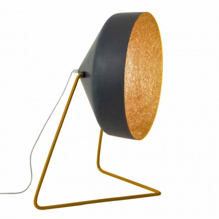 Designer floor lamp In-es.artdesign Cyrcus F Resin blackboard