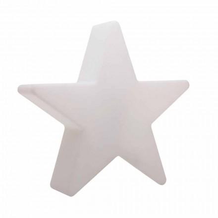White or Red Star Shape Floor Lamp, Modern Design - Ringostar