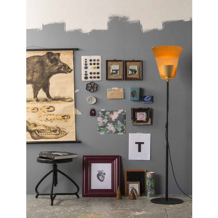 Modern design floor lamp high 168cm Tractor – Toscot