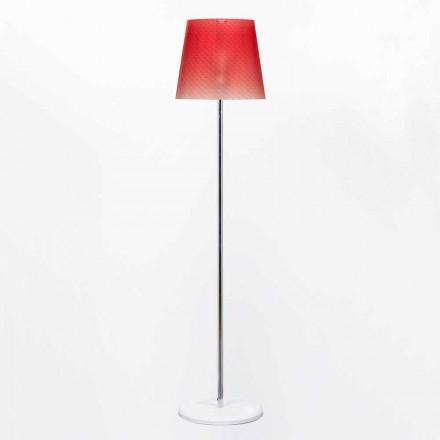 Modern design table lamp Rania, made of polycarbonate, 42 cm diameter