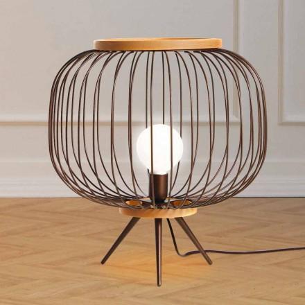 Modern design floor lamp in steel 48xH 52 cm Leira